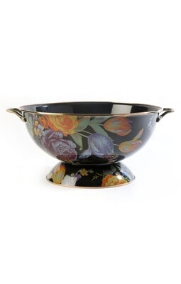 Flower market everything bowl black