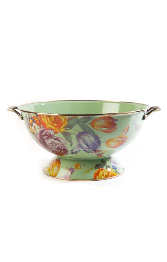 Flower market everything bowl green