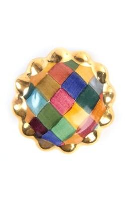 Harlequin round knob