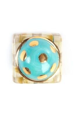 PC petit four square knob