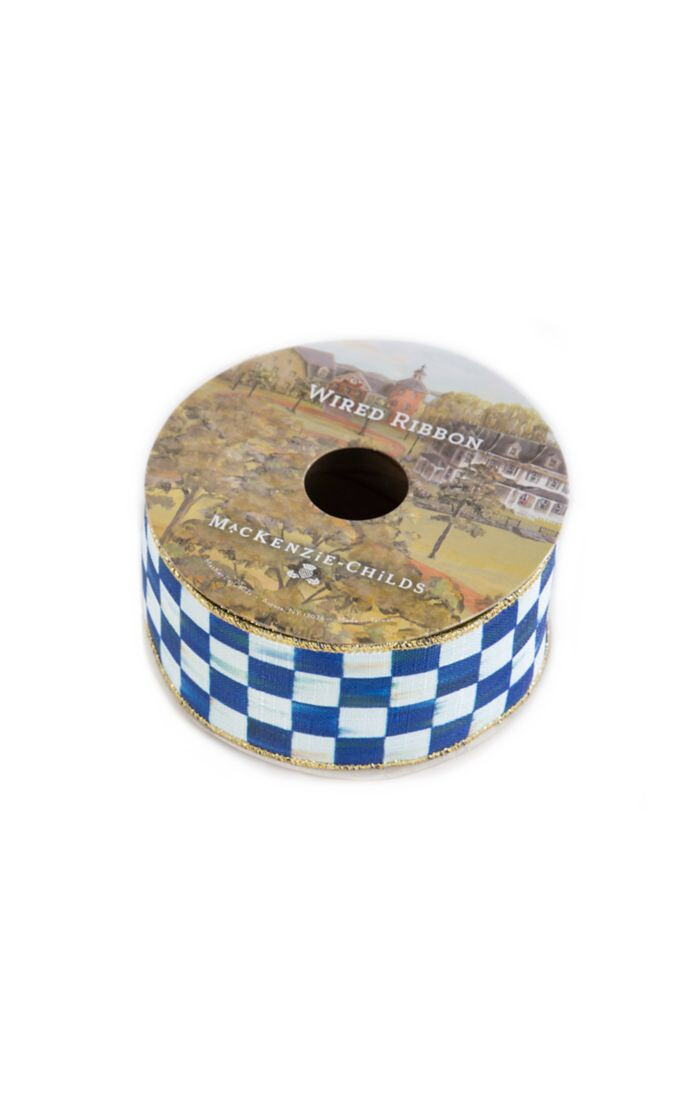 Royal check 2 inch ribbon