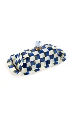 Royal check butter box