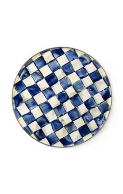Royal check egg plate