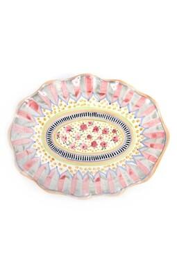 Taylor large serving platter cabbage rose