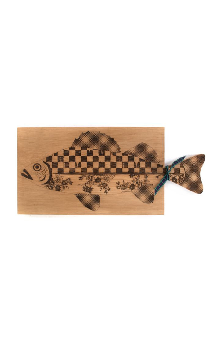 Fish serving board large
