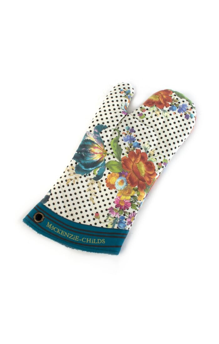 Flower market oven mitt
