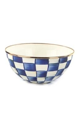 Royal check everyday bowl small
