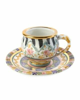 Bazaar espresso cup and saucer