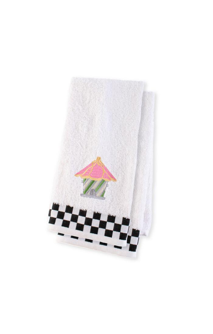Birdhouse hand towels