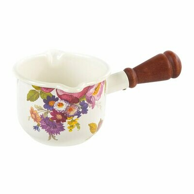 Flower market butter warmer
