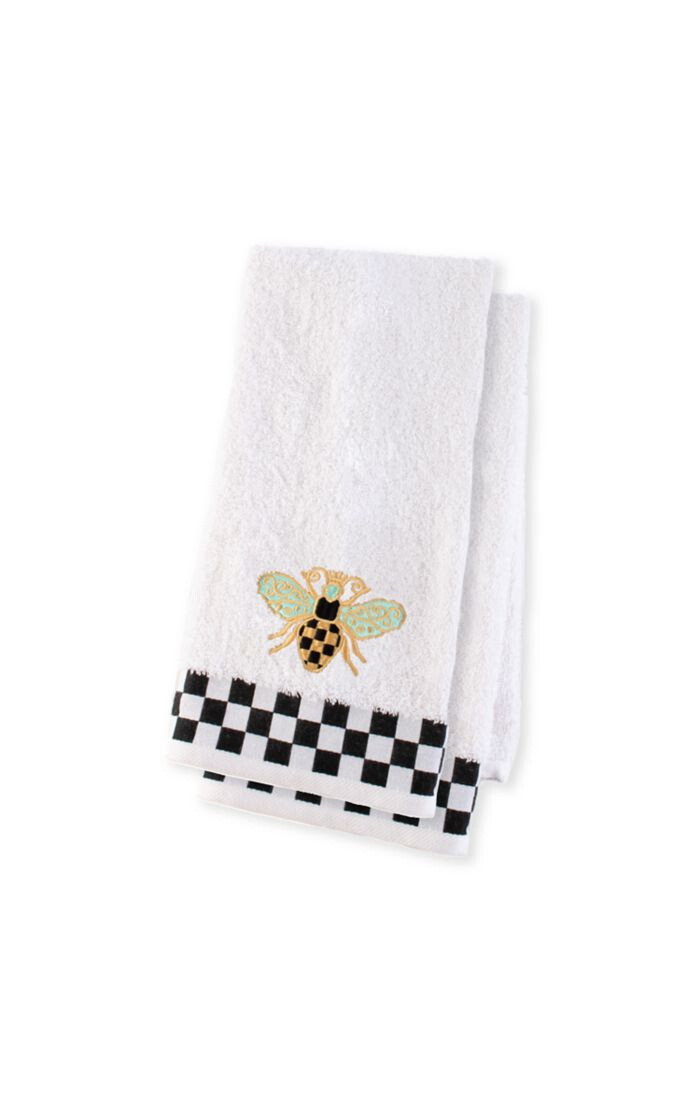 Queen bee hand towel