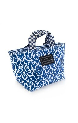 The out to lunch tote royal