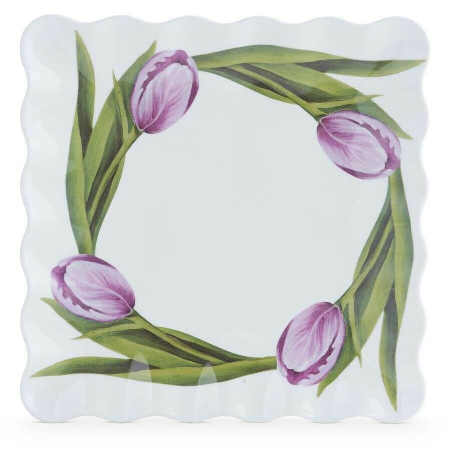 Tulip melamine platter