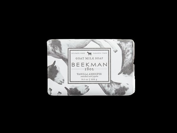 Beekman goat milk soap bar vanilla