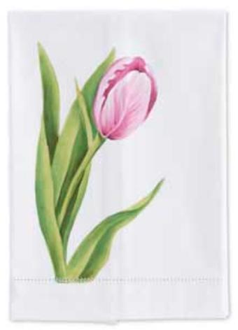 Cotton guest towel tulip single