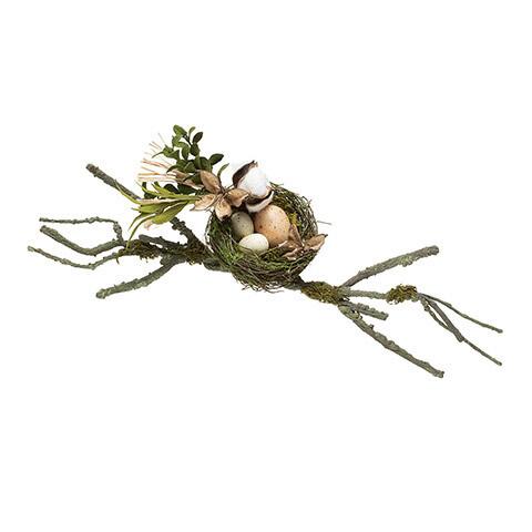 Moss bird nest 18 inch