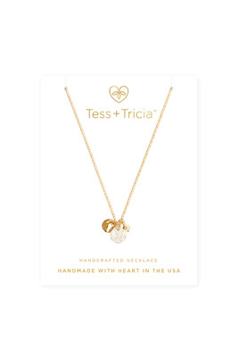TRIO CHARM COIN NECKLACE
