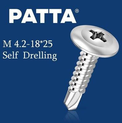 PATTA Պտուտակ գիպսակարտոնի պրոֆիլի սվեռլո M4.2-25