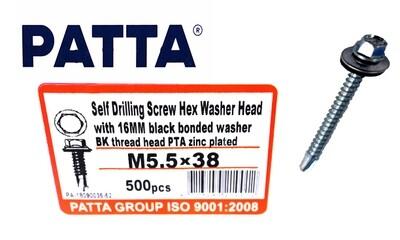 PATTA Պտուտակ տանիքի ցինկ M5.5*38