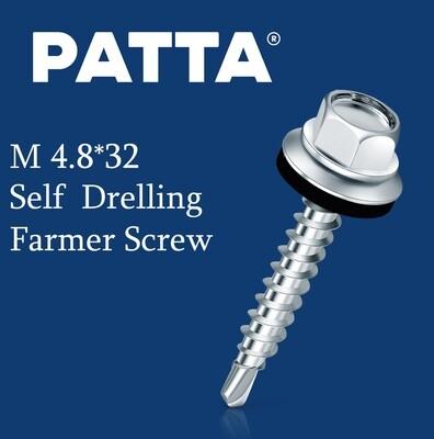 PATTA Պտուտակ տանիքի ցինկ M4.8*32