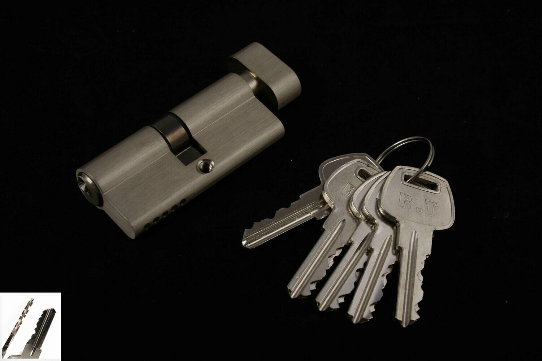 Դռան փականի միջուկ  90 5k brass SN