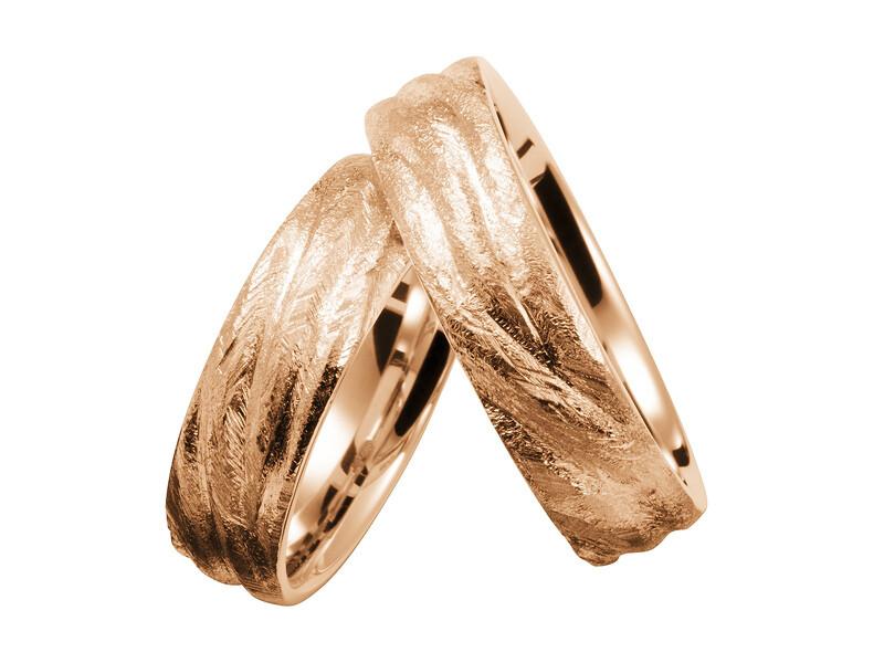 EHERINGSET MITTELGOLD ROSEGOLD RINGE 585/000 GOLDSCHMIEDE JUWELIER EDER FELDBACH