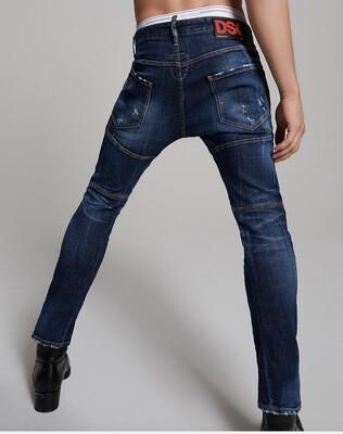D2 BIKER Jeans DSQ RED Label