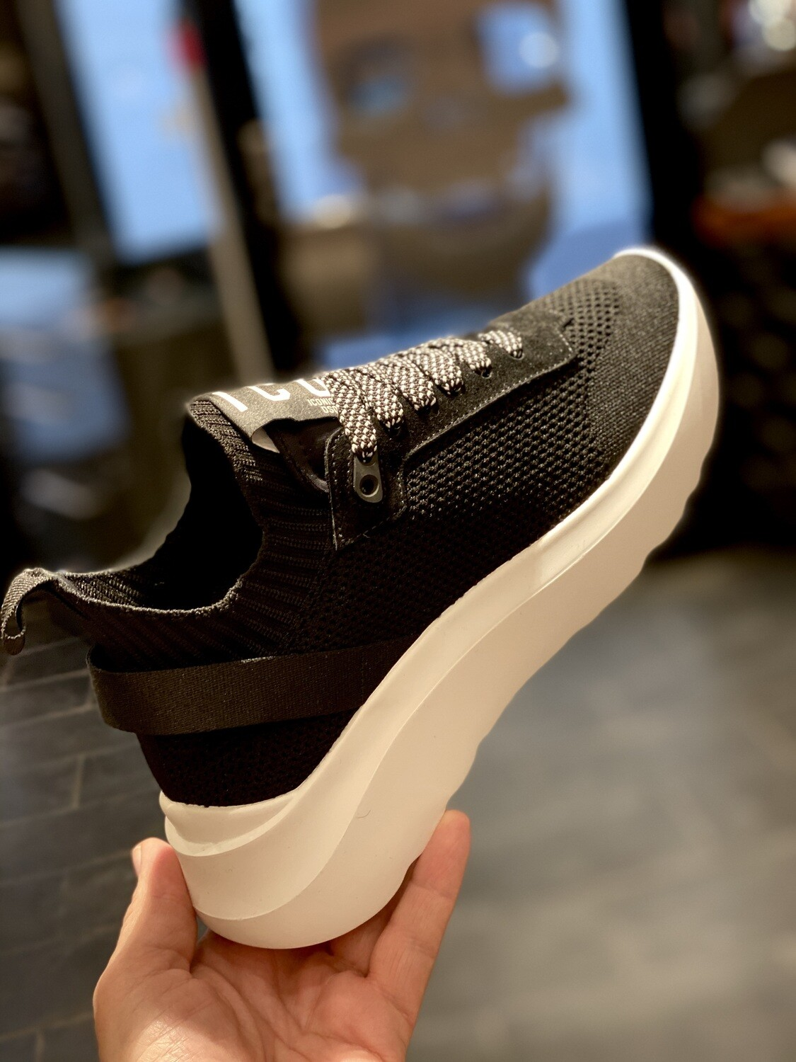 D2 - Sneakers D2 ICON, black