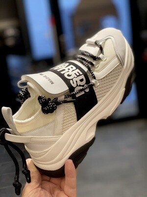 D2 - Sneakers 617 MONSTER BUMPY, white