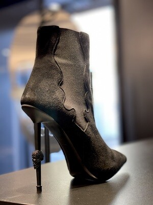 PP Boots 0384 HH SKULL, black