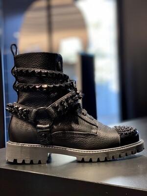 PP Boots STUDDS 0391, black