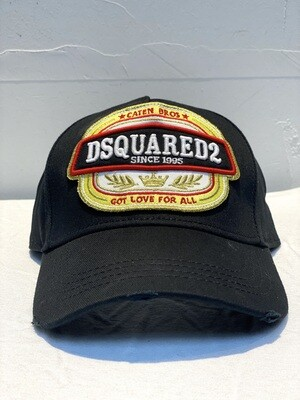DSQUARED2 - Cap GOT LOVE FOR ALL, black