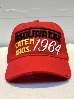 DSQUARED2 - Cap DSQ 1964, red
