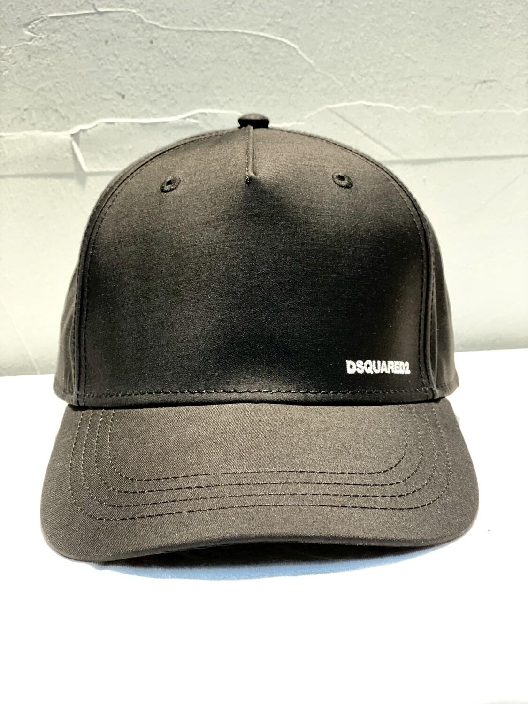 DSQUARED2 - Cap SILK, black
