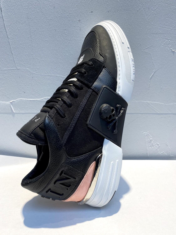 PP - Sneakers KICKS, black/rosa