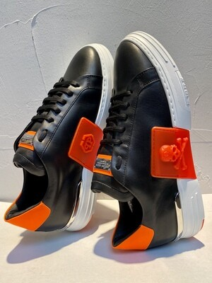 PP • Sneakers PHANTOM 2732, black/orange