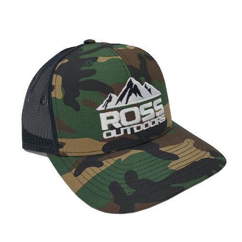 Ross Outdoors CAMO Snapback