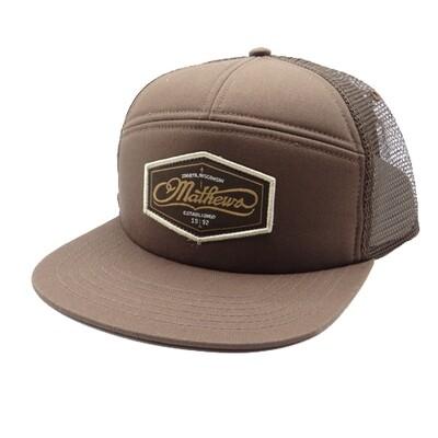 Mathews Coastal Trucker Cap