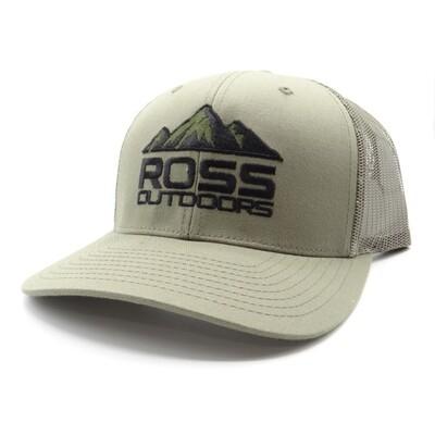 Ross Outdoors Richardson 112 Snapback Hat Loden