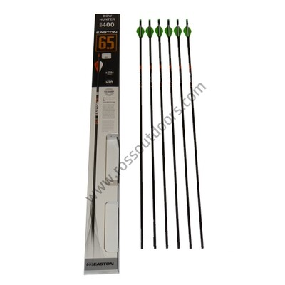 Easton 6.5mm Bowhunter 6 Pack Arrows