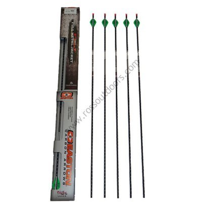 Easton Full Metal Jacket 5mm Match Grade 6 Pack Arrows