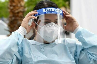 Protective Medical Faceshield
