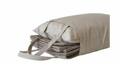 AA151 Alpaca Blanket and Pillow Travel Set