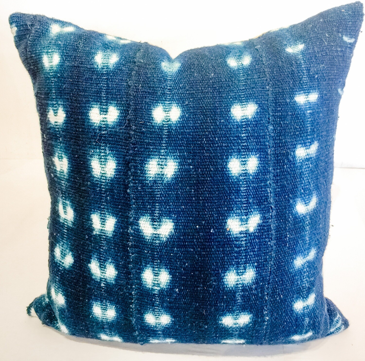 "HH007 Indigo Pillow 15"" x 15"""