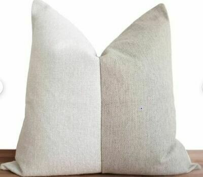 CB005 Pillow - White/Oatmeal 23