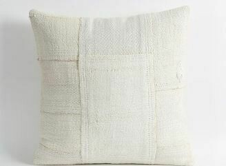 PS001 Hemp Pillow - Patchwork 24