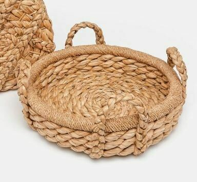 MG009 Knotted Woven Tray - Small