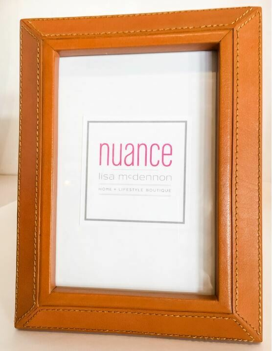 "ZX035 Leather Photo Frame 5"" x 7"""