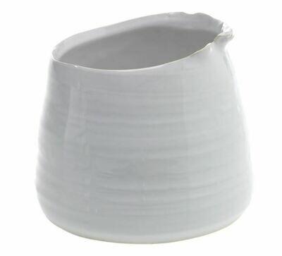AR125 Tegan Pot White MD 5.5 x 4.5