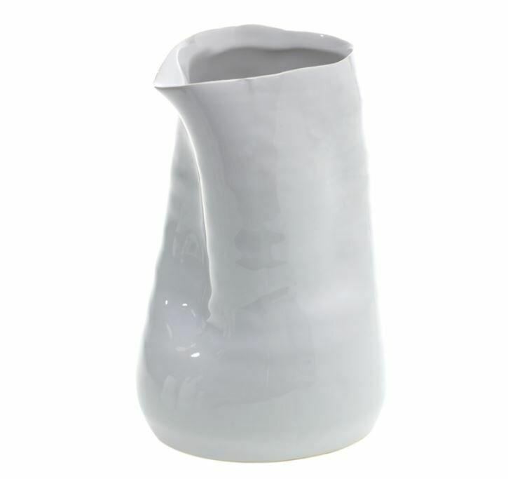 "AR127 Tegan Vase - White 4"" x 6"""